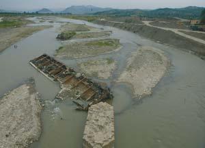 L'environnement en constante dégradation   sabliere-dakbou
